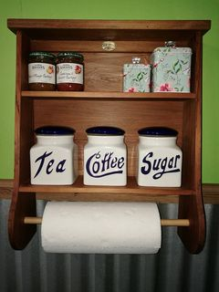 Spice Racks and Paper Towel Holders