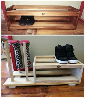 Shoe Stands and Gumboot Racks