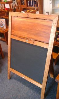 Signs, Blackboards and Menu Holders